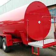Trailer Engineering hergestellt 9000 Liter Diesel bunded Website bowser