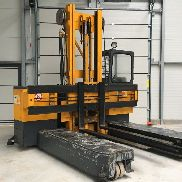 Hubtex four-way side loader VD 45 (2012 battery)