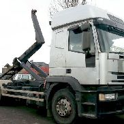 IVECO 260 EY telescop hook lift