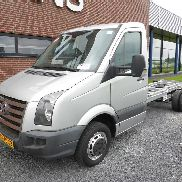 VOLKSWAGEN Crafter 50 2.0 TDI13 CHASSIS 136 PK camión chasis