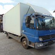 MERCEDES-BENZ ATEGO 818 closed box truck
