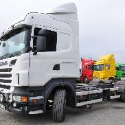 SCANIA R500 chassis truck