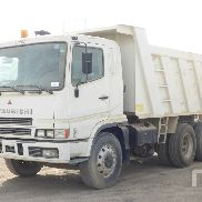 MITSUBISHI FV517 dump truck for sale by auction