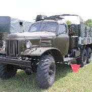 ZIL 157 military truck