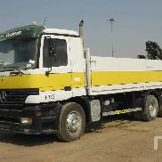 MERCEDES-BENZ ACTROS flatbed truck for sale by auction