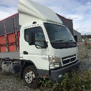 MITSUBISHI Canter Chassi med defekt motor chassis truck