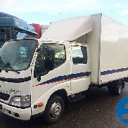 TOYOTA DYNA 150.2,5 LWB closed box truck