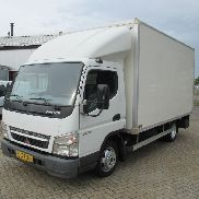 MITSUBISHI Canter 35C13 Ladebordwand closed box truck