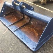 CASE CX210 - Axes 80mm - 2200mm digger bucket