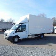 FORD TRANSIT 2,4 TDCI KOFFER MAXI closed box truck
