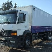 MERCEDES-BENZ 2528, isothermal trucks closed box truck