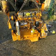 CASE engine for CASE 580 backhoe loader