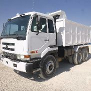 NISSAN CWB450HDLA dump truck for sale by auction