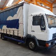 MAN 8.153 truck curtainsider