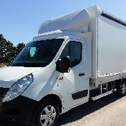 New RENAULT Master 170KM truck curtainsider