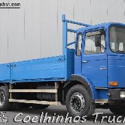 MAN 26.321 flatbed truck