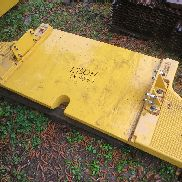 Volvo L150H extra counter weight VOLVO spare parts for VOLVO L150H wheel loader