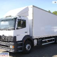 MERCEDES-BENZ Atego 1828 closed box + taillift closed box truck