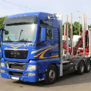 MAN TGX 26.540 BLS CRANE FORISTERI 2010 timber truck
