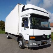 MERCEDES-BENZ Atego closed box truck