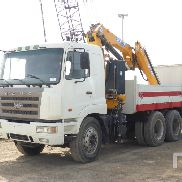 CAMC HN3250P34C6MJ flatbed truck for sale by auction
