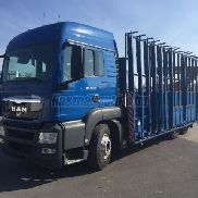 MAN TGS flatbed truck