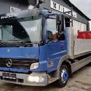 MERCEDES-BENZ ATEGO 816 bluetec4 -stake body flatbed truck