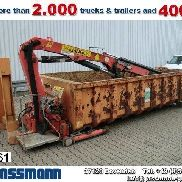 PALFINGER PK 8000 Abroll-Container mit Kran tipper body