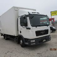 MAN TGL 7.180 closed box truck