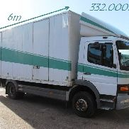 MERCEDES-BENZ ATEGO 1217 - CLOSED BOX / CAISSER FERMEE - BE TRUCK - GOOD CONDI closed box truck