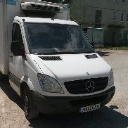 MERCEDES-BENZ sprinter 313 refrigerated truck