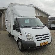 FORD Transit 350L Chassis 2,4 TDCi 140 Trend Alukasse closed box truck