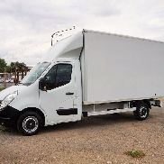 RENAULT Master 125dci closed box truck