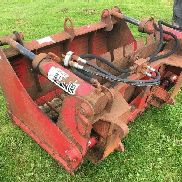 REDROCK 140 cm silage facer bucket for sale by auction