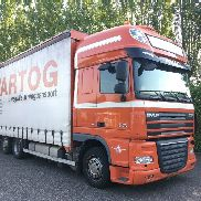 DAF FAR XF105.460 Low Deck LKW Vorhang