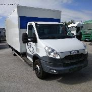 IVECO DAILY 70C17A closed box truck