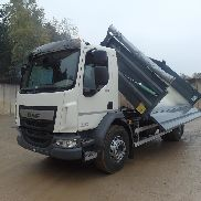 New DAF LF 280 FA 4X2 with KH Kipper body dump truck