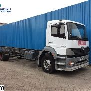 MERCEDES-BENZ Atego 1828 Manual chassis truck