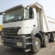 MERCEDES-BENZ AXOR 4140 dump truck for sale by auction