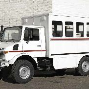 Unimog 1300L SECURITY military truck