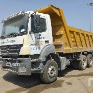 MERCEDES-BENZ AXOR 3340 dump truck for sale by auction