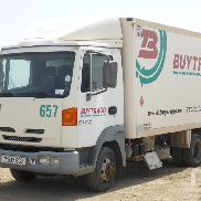 NISSAN ATLEON 140 refrigerated truck for sale by auction