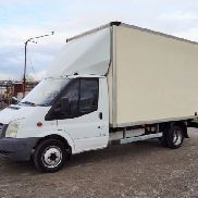 FORD Transit 2.4TDCI closed box truck