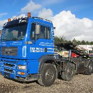 MAN TGA 35.480 cable system truck