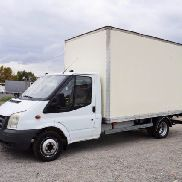 FORD Transit 350EF koffer 4,2m LBW closed box truck