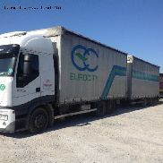 IVECO STRALIS AS260S50Y FP truck curtainsider + curtain side trailer