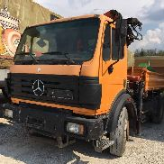 MERCEDES-BENZ 18.34 flatbed truck