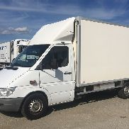 MERCEDES-BENZ SPRINTER 313 CDI DIA ANTIGUO CHICKS HATCHING OVOS TRANSPORTE transporte de aves de corral
