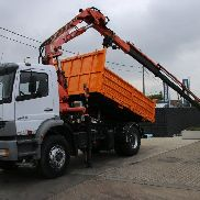 MERCEDES-BENZ ATEGO 1828 K + ATLAS 170.02 Muldenkipper