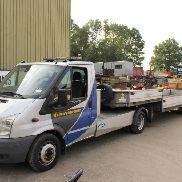 FORD Transit 100 BE car transporter for sale by auction